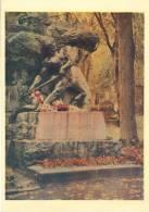Ukraine, Lvov, Monument On Ivan Franko's Grave,  1962 Unused Postcard [11753] - Ukraine