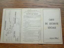 Carte De Securité Sociale LOUSBERG René - Limbourg / 1946 ( Voir Détails Photo ) ! - Autres Collections