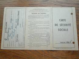 Carte De Securité Sociale LOUSBERG René - Limbourg / 1946 ( Voir Détails Photo ) ! - Andere Verzamelingen
