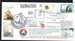 SAIL Plymouth New York 1976 HIGH FRANKING !!!! (R 226) - Nederland