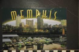 CP  USA   TENNESSEE     MEMPHIS AT DUSK - Memphis