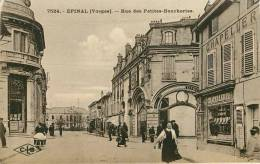 Dép 88 - Epinal - Rue Des Petites Boucheries - A Droite Chapellerie - Bon état Général - Epinal