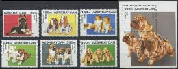 AZERBAIDJAN 1996 - Chien - Neuf Sans Charniere (Yvert 261/66 - BF 20) - Azerbaïdjan