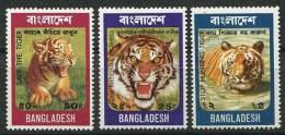 BANGLADESH 1974 - Faune Tigre - Neuf Sans Charniere (Yvert 56/58) - Bangladesh