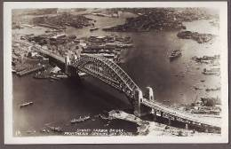 Australia   NSW SYDNEY Harbour Bridge  On Opening Day RP  Au355 - Sydney