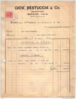 ITALIE - MESSINE - ESSENCE D'ORANGE - GIOV. RESTUCCIA & CO. - 1919 - Italy