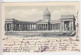 Saint Petersbourg - Cathedrale De Kazan - Russie