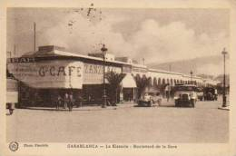 """Casablanca  Bd. De La Gare """"La Kissaria """" - Zanzibar Café - Belle Animation ! - Casablanca"""