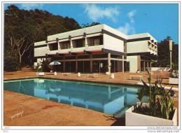 """CPM    MAN   ( Cote D´ivoire)   HOTEL SIETHO  """" LES  CASCADES """" - Costa De Marfil"""