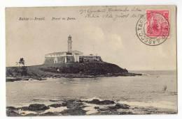 D9695 - Bahia  - Pharol Da Barra - Salvador De Bahia
