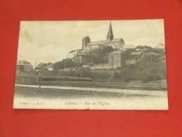 LOBBES  -   Vue De L´ Eglise   -  1908 - Lobbes