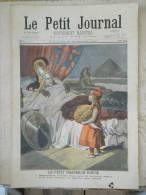 LE PETIT JOURNAL N° 418 - 20 NOVEMBRE 1898 - LE PETIT CHAPERON ROUGE - HOMMAGE AU DR GOURRAUD HOPITAL DE LA CHARITE - Periódicos