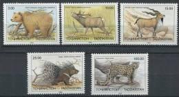 TADJIKISTAN 1993 - Faune Animaux Ours - Neuf Sans Charniere (Yvert 12/16) - Tadjikistan