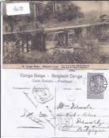 CONGO BELGE (LEOPOLDVILLE) : PONT DE LUKULA DANS LE MAYUMBE - Congo Belge - Autres