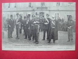 50. Voyage Présidentiel à CHERBOURG - Les Autorités Attendant L'arrivée Du Yacht Royal - Cherbourg