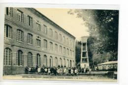 76 ORIVAL ST SAINT HELLIER Enfant Collonie Scolaire Le Chateau D'Eau 1920     /D18-2012 - Francia
