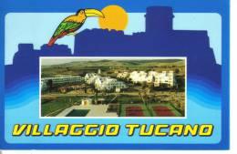 Cartolina Alberghi/ristorante-villaggio  Tucano - Hotels & Gaststätten