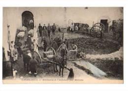 MAROC---CASABLANCA---mobilisation De L´ambulance Pour Medionna--voir Scan - Casablanca