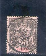 CONGO FRANCAIS 1892 O - Congo Français (1891-1960)