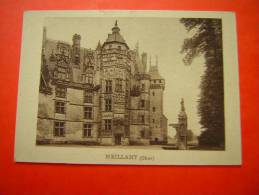 IMAGE   CHATEAU DE MEILLANT  CHER H Et Cie N° 136 - Old Paper