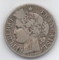 FRANCIA 2 FRANCS 1871 AG - I. 2 Franchi