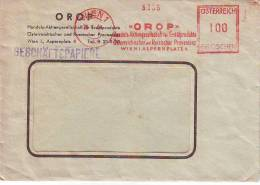 1003j: Motiv Erdöl, Freistempler Österreich, OMV- Vorläufer, RR Aus Dem Jahr 1955 - Geologie