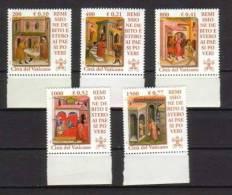 Vaticano 2001 Remissione Debito Estero La Serie Cpl.5 Valori Nuovi** - Vaticano
