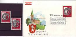 1003m: Bergbau Salzabbau Hallein, Stadtjubiläum 1980, **/ O/ FDC - Geologie