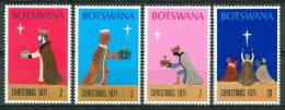1971 Botswana Natale Christmas Noel Set  MNH** Nat74 - Christmas