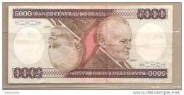 Brasile - Banconota Circolata Da 5000 Cruzeiros P-202c - 1981 - Brésil