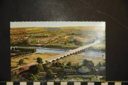 CP, 47, Agen Le Pont Canal Sur La Garonne - Agen