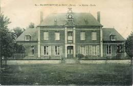 27 Ste-OPPORTUNE-du-BOSC La Mairie  Ecole - France