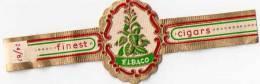 3 Bagues Pour Petits Cigares, Ve Ma Ko, Vander Elst, Elbago (13.67) - Bauchbinden (Zigarrenringe)