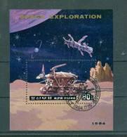 Bloc Corée Du Nord De 1984 Oblitérés , Space Exploration   - Ai10210 - Corée Du Nord
