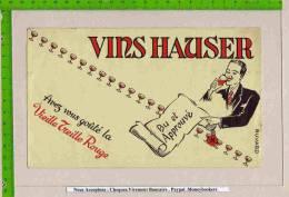 BUVARD : Vins HAUSER Vieille Treille Rouge - Liquor & Beer