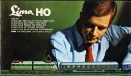 LIMA HO  1968/1969  Catalogue Trains électriques - Modélisme