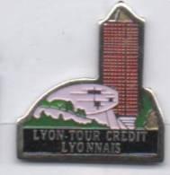 Banque , Tour Crédit Lyonnais De Lyon - Banken