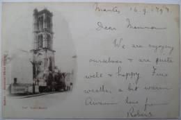 78 : Mantes - Tour Saint-Maclou - Carte Précurseur - 1898 - Mantes La Jolie