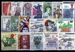 Checoslovaquia  Lote De Sellos Usados - Checoslovaquia