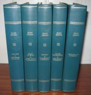 Les Immortels Chefs-Doeuvre  Éditions Rombaldi 5 Volumes Jean Giono - Lotti E Stock Libri
