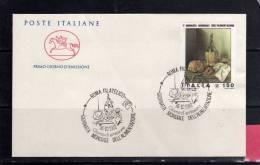 ITALIA REPUBBLICA ITALY REPUBLIC 1981 GIORNATA MONDIALE DELL´ALIMENTAZIONE FDC CAVALLINO - 6. 1946-.. Republic
