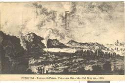 NA702 - Pozzuoli - Vulcano Solfatara (dal Morghen 1800) - Annullo Targhetta VIAGGIANDO SERVITEVI DEI TELEGRAMMI TRENO - Pozzuoli