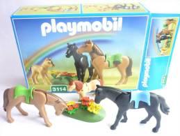 PLAYMOBIL BOITE 3114 chevaux