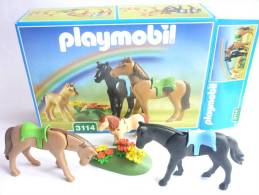 PLAYMOBIL BOITE 3114 Chevaux - Playmobil
