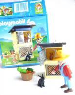 PLAYMOBIL BOITE 4499 le fermier et ses lapins