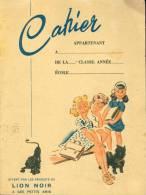 Cahier - Pub, Lion Noir - Unclassified