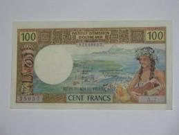 100 Francs 1969  NOUMEA - Institut D´émission D´outre Mer. REPUBLIQUE FRANCAISE - Nouvelle-Calédonie 1873-1985
