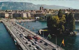 Schweiz Geneve Le Pont du Mt Blanc