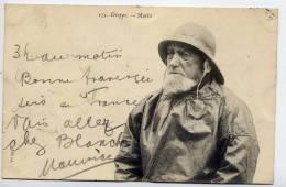 DIEPPE--Marin  N° 174  Vvc éd M --Beau Plan De Pêcheur--belle Carte Précurseur - Dieppe