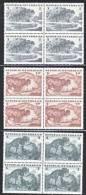 Austria 685-7  X 4  **  FLORA  TREES - Blocks & Sheetlets & Panes